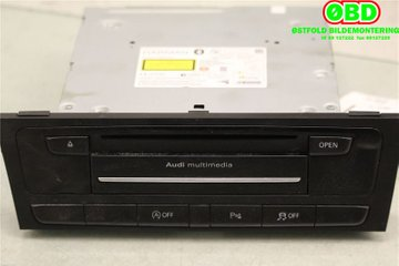 Radio CD / Multimediapanel - Audi A4, S4 -14 8R1035666E 8R1035666E 8R1035666C