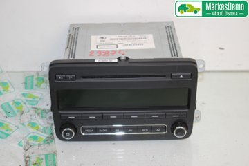 Radio CD / Multimediapanel - Skoda Fabia -14 5J0035161G