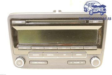 Radio CD / Multimediapanel - VW Passat -12 1K0057186AN  1K0035186AN