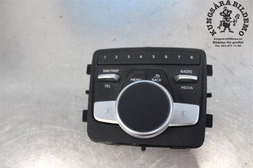 Radio CD / Multimediapanel - Audi A4, S4 -17 8W0919614T  8W0919614T