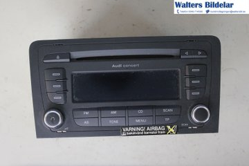 Radio CD / Multimediapanel - Audi A3, S3 -07  7647253380 8P0035186G