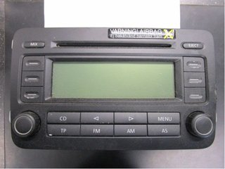 Radio CD / Multimediapanel - VW Touran -05  1K0035186L
