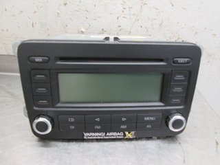Radio CD / Multimediapanel - VW Caddy -06  RCD300 1K0035186P