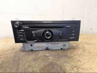 Radio CD / Multimediapanel - Audi A4, S4 -10 8T1057186P CQ JA1970G 8T1035186P