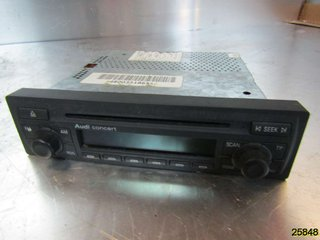 Radio CD / Multimediapanel - Audi A6, S6 -04 4B0057186SX 9184236451 GRUNDIG 4B0 035 186 S