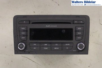 Radio CD / Multimediapanel - Audi A3, S3 -09 8P0035186P 8157647026380