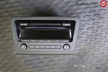 Radio CD / Multimediapanel - Skoda Rapid -15 5J0035161E 28473883 5J0035161E