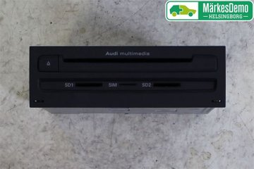 Radio CD / Multimediapanel - Audi A8, S8 -10 4H0035670CX  4H0035670C