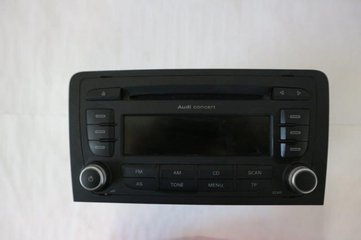 Radio CD / Multimediapanel - Audi A3, S3 -10  8P0035186AB