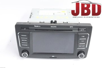 Radio CD / Multimediapanel - Skoda Octavia -10 1Z0035156F