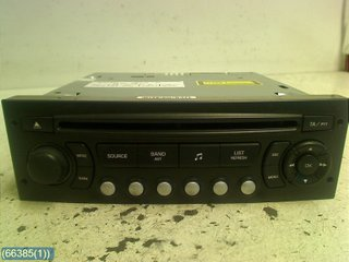 Radio CD / Multimediapanel - Citroen C4 -06 657932  (RP6579PC) 7645137392 BLAUPUNKT