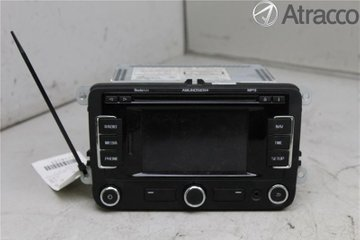 Radio CD / Multimediapanel - Skoda Superb -13 3T0035192M  3T0035192M