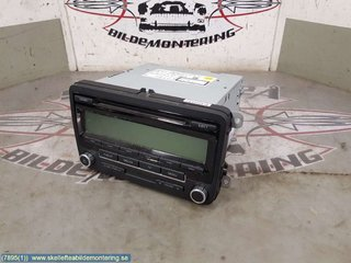 Radio CD / Multimediapanel - VW Golf, e-Golf -09 1K0 057 187 AX  1K0035186AA