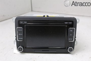 Radio CD / Multimediapanel - VW Passat -12 3C8057195FX  3C8035195F