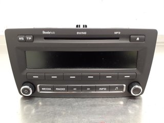 Radio CD / Multimediapanel - Skoda Octavia -12 1Z0035161M 7648258360 1Z0035156F