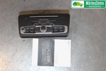 Radio CD / Multimediapanel - Audi A1 / S1 -16 8XA035193AX  8XA035193A
