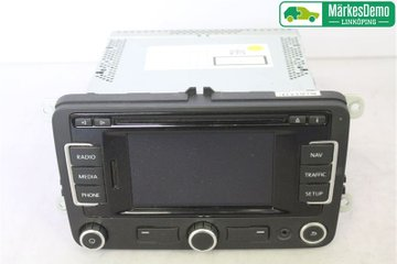 Radio CD / Multimediapanel - VW Polo -12 3C0 035 270 BX  3C0035270B