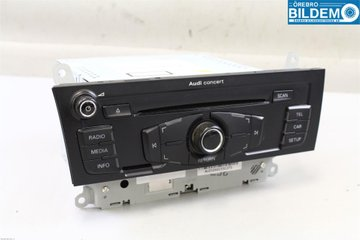 Radio / Stereo - Audi A4, S4 -11 8T1035186P  8T1035186P