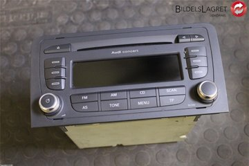 Radio CD / Multimediapanel - Audi A3, S3 -07 8P0057186GX  8P0035186G