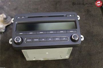 Radio CD / Multimediapanel - Skoda Fabia -15 5J0035161G  5J0035161G