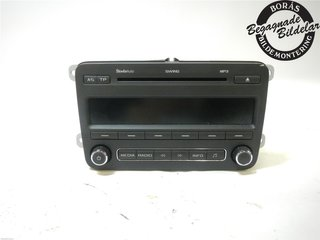 Radio CD / Multimediapanel - Skoda Fabia -11 5J0035161C