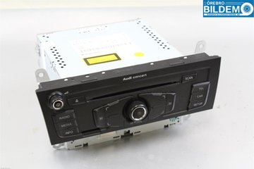 Radio / Stereo - Audi A4, S4 -09   8T1035186C