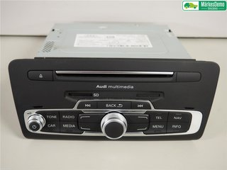 Radio CD / Multimediapanel - Audi A1 / S1 -18 8XA035183FX  8XA035183F