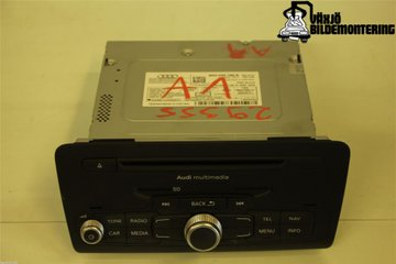 Radio CD / Multimediapanel - Audi A1 / S1 -13   8X0035185E