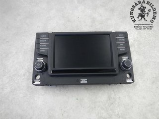 Kontrolldisplay - VW Golf, e-Golf -17 3G0919605B Composition Media 3G0919605B