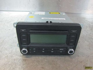 Radio CD / Multimediapanel - VW Golf, e-Golf -06 1K0057186PX 7643222360 BLAUPUNKT 1K0 057 186 P