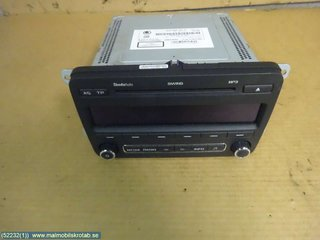 Radio CD / Multimediapanel - Skoda Fabia -11  5J0 035 161 C