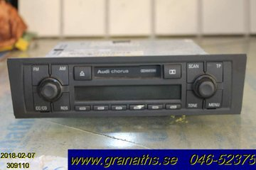 Radio CD / Multimediapanel - Audi A3, S3 -04  8P0035152