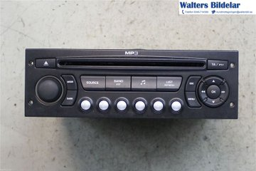Radio CD / Multimediapanel - Citroen Berlingo -09   9664513277