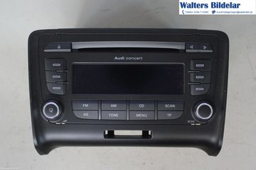 Radio CD / Multimediapanel - Audi TT/TTS/TT RS -06  7646273380 8J0035186E