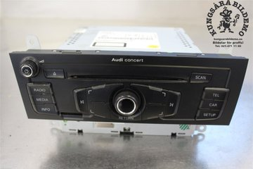 Radio CD / Multimediapanel - Audi A5 -10 8T1057186PX  8T1035186P