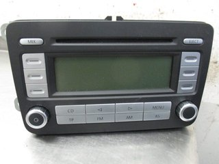 Radio CD / Multimediapanel - VW Passat -07  RCD300 1K0035186R