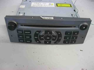 Radio CD / Multimediapanel - Peugeot 407 -05 6564 W5	 16 085 109 YW BLAUPUNKT-RD4N2-00
