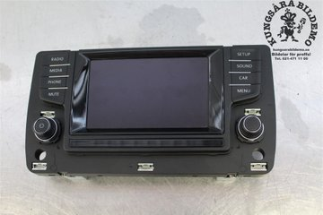 Radio CD / Multimediapanel - VW Golf, e-Golf -13 5G0919605 ALPINE 5G0919605