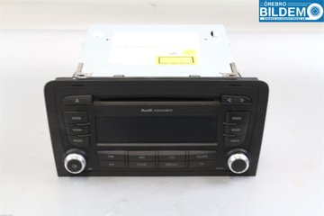 Radio / Stereo - Audi A3, S3 -12 8P0035186AB  8P0035186AB