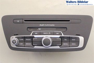 Radio CD / Multimediapanel - Audi Q3 -12 8U0035182FX  8U0035182F