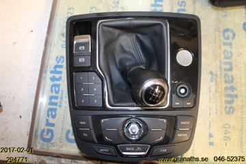 Radio CD / Multimediapanel - Audi A6, S6 -11  4G1919615K