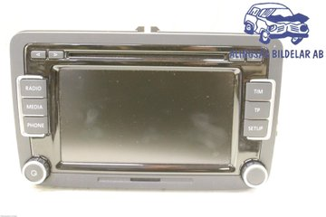 Radio CD / Multimediapanel - VW Golf, e-Golf -12 3C8057190C  3C8035190C