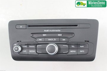 Radio CD / Multimediapanel - Audi A1 / S1 -14 8X0035193FX  8X0035193FX