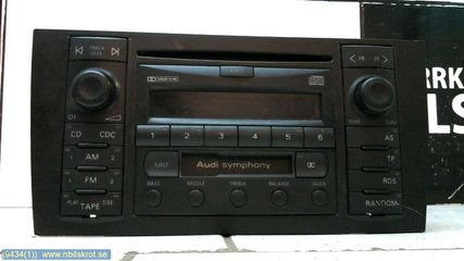 Radio CD / Multimediapanel - Audi A6, S6 -01 4B0035195 CQ-LA 1821L 033390