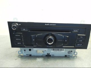 Radio CD / Multimediapanel - Audi A4 Allroad -10  CQ-JA1970G PANASONIC 8T1035186P