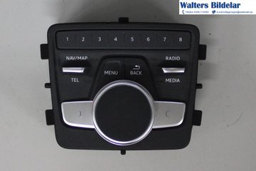 Radio CD / Multimediapanel - Audi A4 Allroad -17 8W0919614T  8W0919614T
