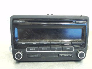 Radio CD / Multimediapanel - VW Caddy -11 1k0057186an CM-7640211360  BOSCH 1K0035186AN