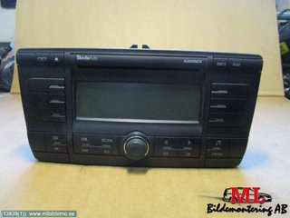 Radio CD / Multimediapanel - Skoda Octavia -06 1Z0035156B 1Z0035156B