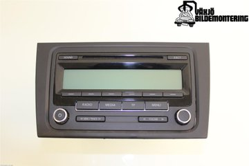 Radio CD / Multimediapanel - VW Golf, e-Golf -10   1K0035186AA