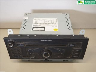 Radio / Stereo - Audi A4, S4 -10 8T1057186P  8T1035186P